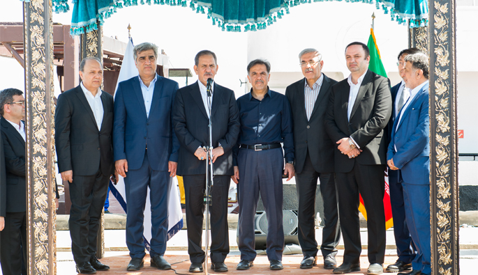 Launching corridor of China- Kazakhstan-Iran with the arrival of the first cargo to the Caspian port complex